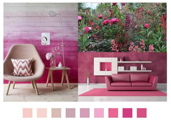 a more detailed look at pantone's home + interiors 2017 | @meccinteriors | design bites