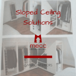 sloped ceiling solutions | @meccinteriors | design bites