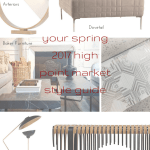 tuesday trending: your spring 2017 high point market style guide   @meccinteriors   design bites