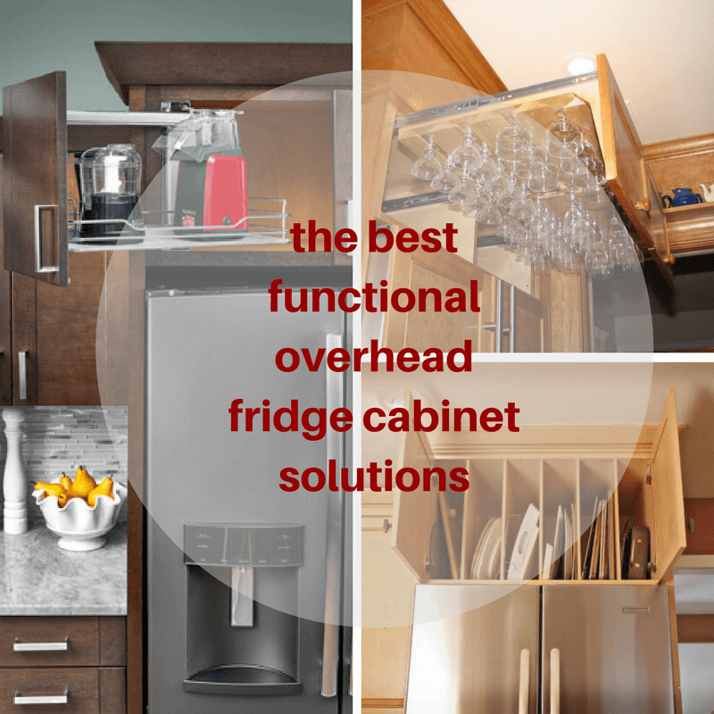 The Best Functional Overhead Fridge Cabinet Solutions | Mecc Interiors Inc.