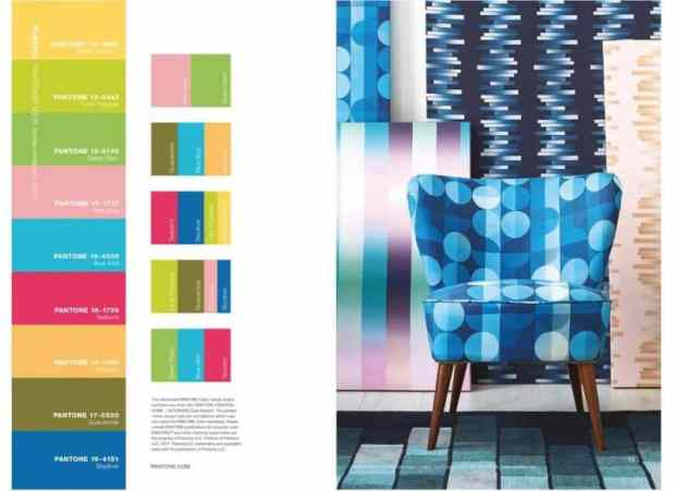 pantone shares the 2018 home+interiors go-to colours | @meccinteriors | design bites
