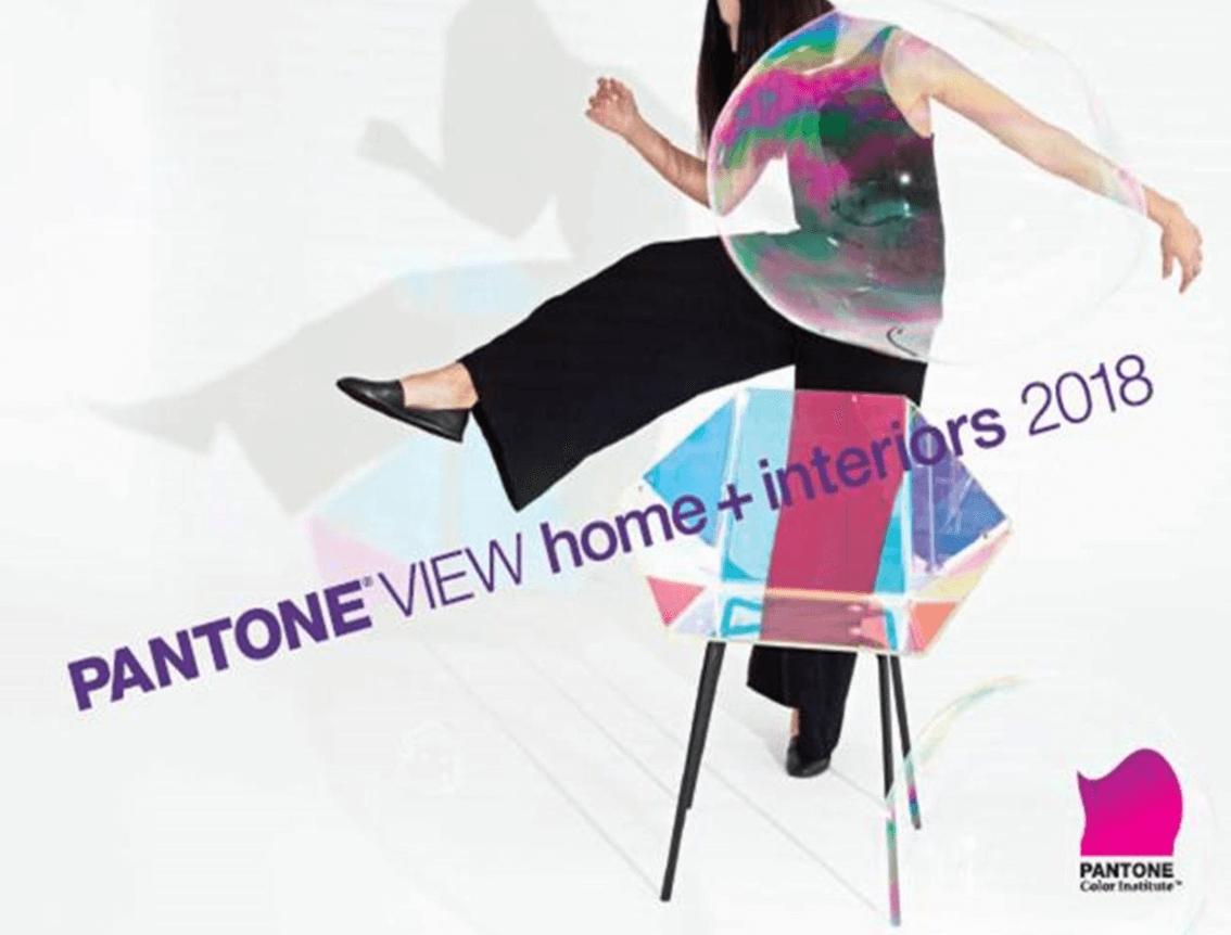 pantone shares the 2018 home+interiors go-to colours