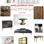 early product love from spring 2017 high point market | @meccinteriors | design bites