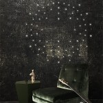 led wallpaper helps you turn on the lights | @meccinteriors | design bites