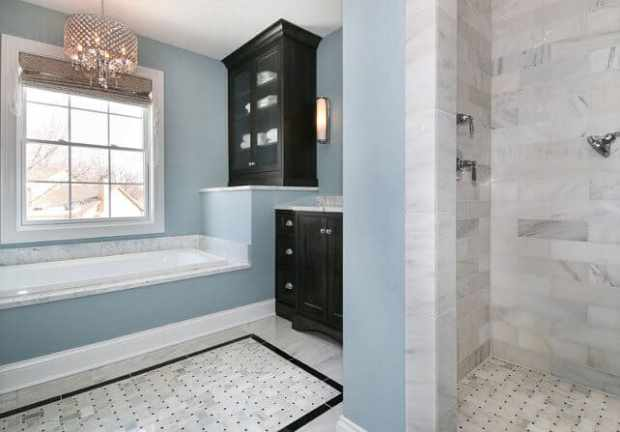 the top 5 colours for a relaxed bathroom   @meccinteriors   design bites