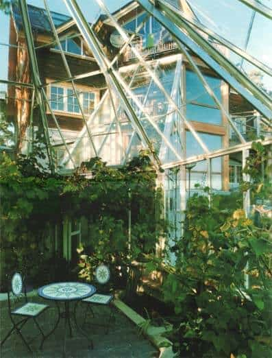 Living In A Greenhouse Like Dome | @meccinteriors | Design Bites