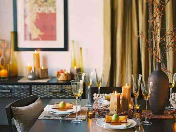 simple ideas for contemporary thanksgiving interiors | @meccinteriors | design bites