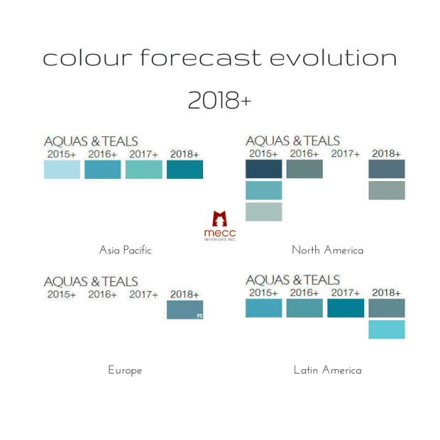 4 important international colours for 2018+ | @meccinteriors | design bites