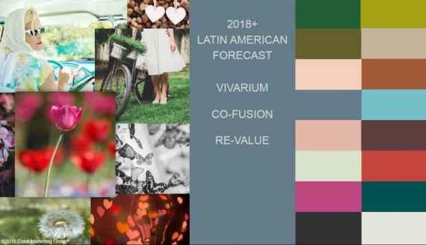 4 important international colours for 2018+ | @meccinteriors | design bites