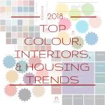 2018 top colour, interiors, and housing trends | @meccinteriors | design bites