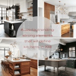 #tuesdaytrending: strong elements that will define kitchens in 2018 | @meccinteriors | design bites