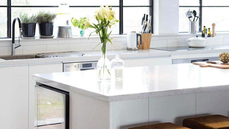 how to declutter the kitchen to clear off your counter
