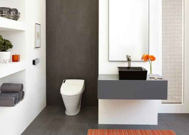 does your bathroom need a smart toilet? | @meccinteriors | design bites