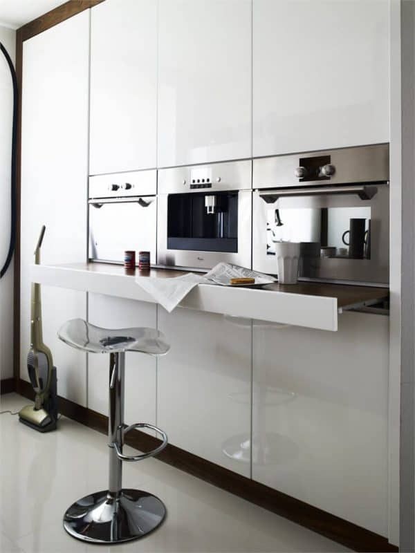 right height appliances for greater comfort in the kitchen