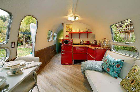 Fantastic Small Space Solutions From Airstream Interiors Mecc Simple Airstream Interior Design