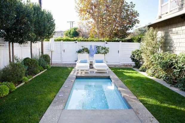 12 small pools that create great outdoor entertaining | @meccinteriors | design bites