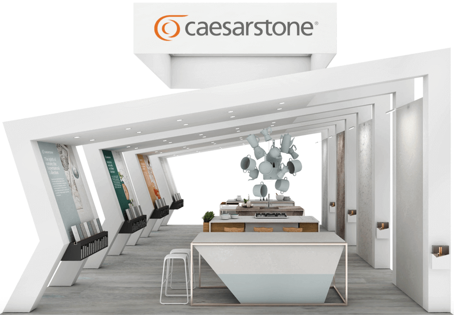 caesarstone's take on the kitchen of tomorrow