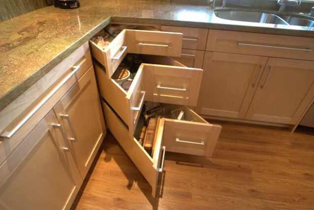Change The Way You Use Blind Corner Cabinets Mecc Interiors Inc
