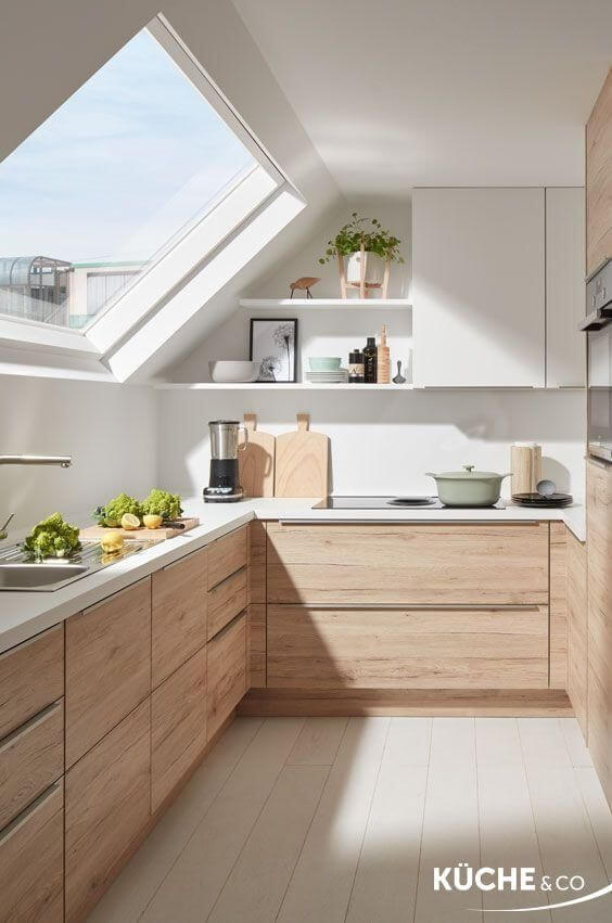 Sloped Ceiling Kitchens That Are Functional Stylish Mecc Interiors Inc