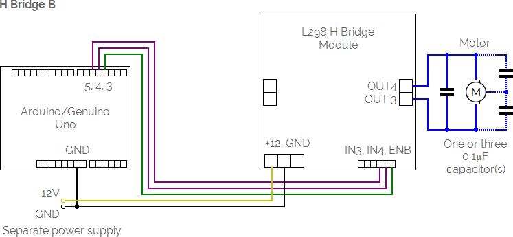 l298 h bridge circuit diagram tj magna radio wiring blog diagrams control kit