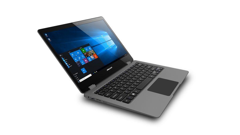 Mecer Fundi 13.3″ Screen with a full HD screen 2 in 1 Notebook – Grey