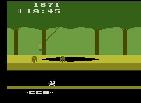 (TROUVÉ) ATARI 2600 TBE en boite Pitfall-1983-CCE-_NTSC