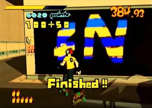 Dreamcast: Custome Graffitti in Jet Set Radio