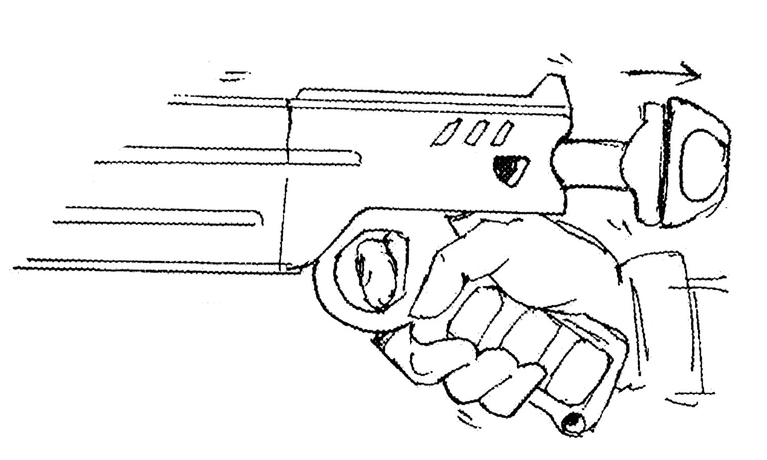 Rrg Fn Sal 9 Laser Pistol