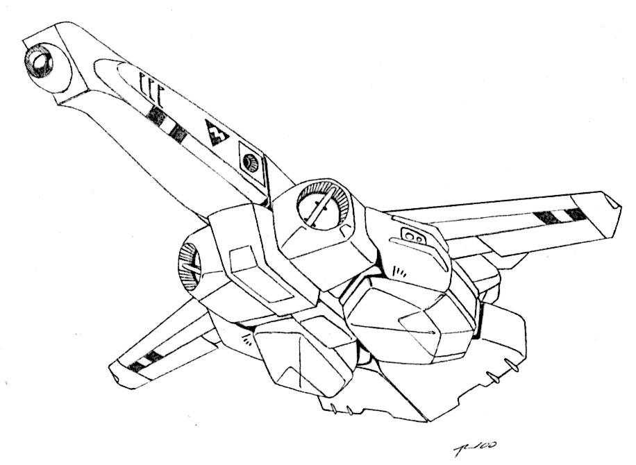 Maxwell Dynamics VA-5 Condor Veritech Attack Fighter