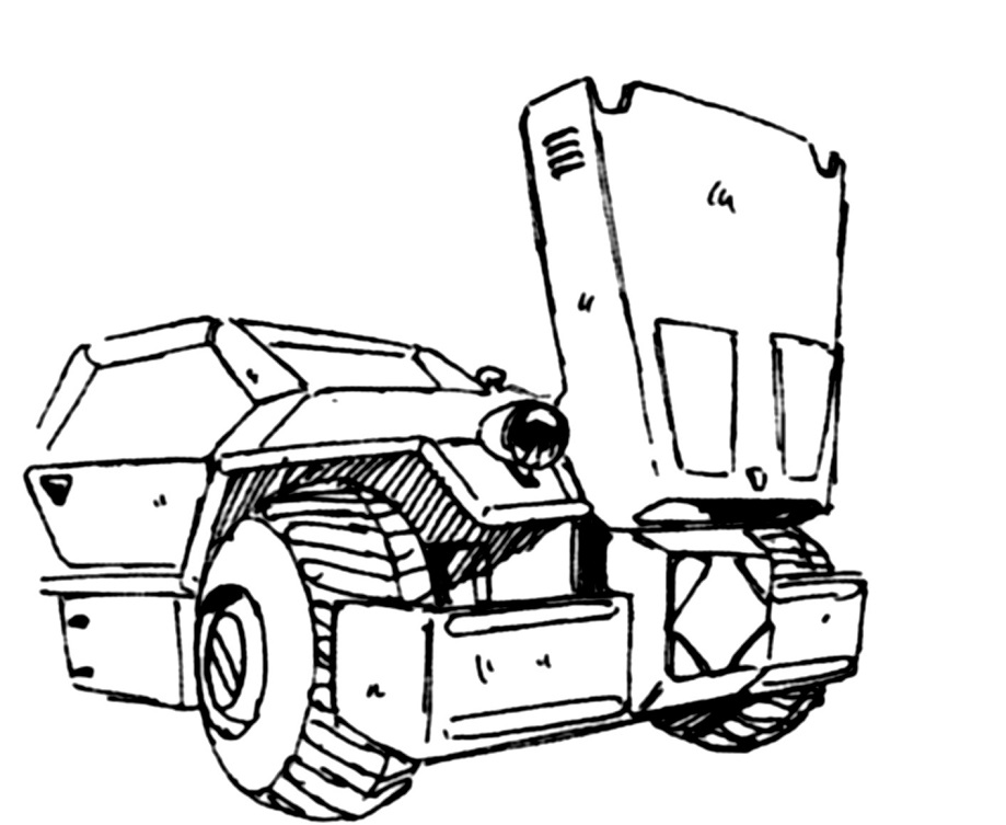 General Motors M-70 Kodiak LTSV Light Tactical Support