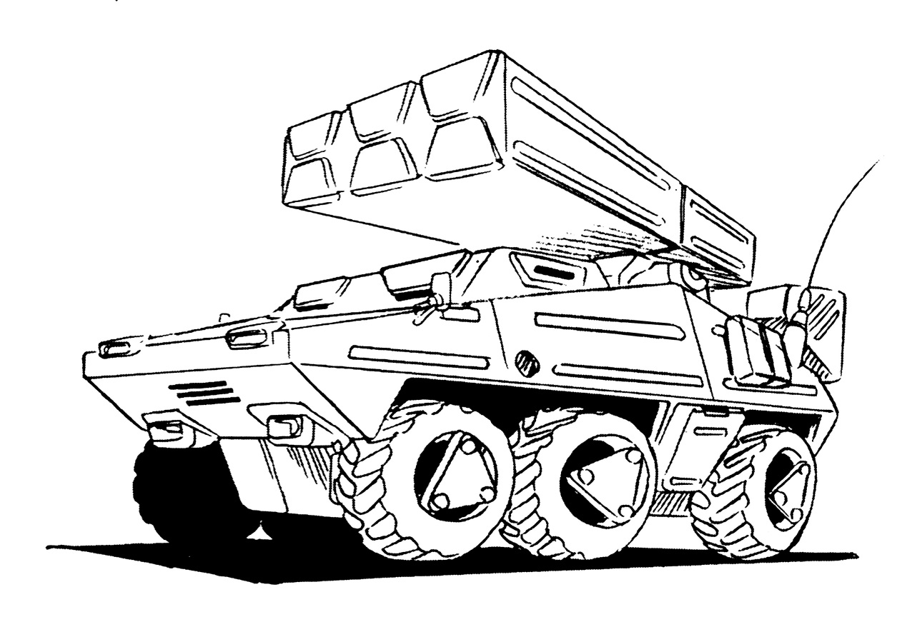 Fiat S.p.A. M-120 (FIAT 6836) Heavy Armored Vehicle