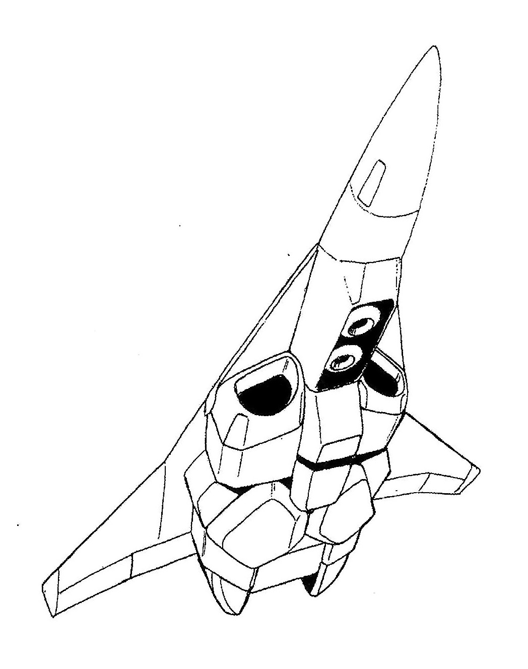 Maxwell Dynamics Vq 6 Vandal Veritech Unmanned Fighter