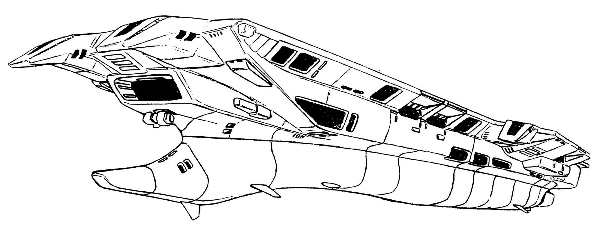 Prometheus Class Submersible Aircraft Carrier Cvs