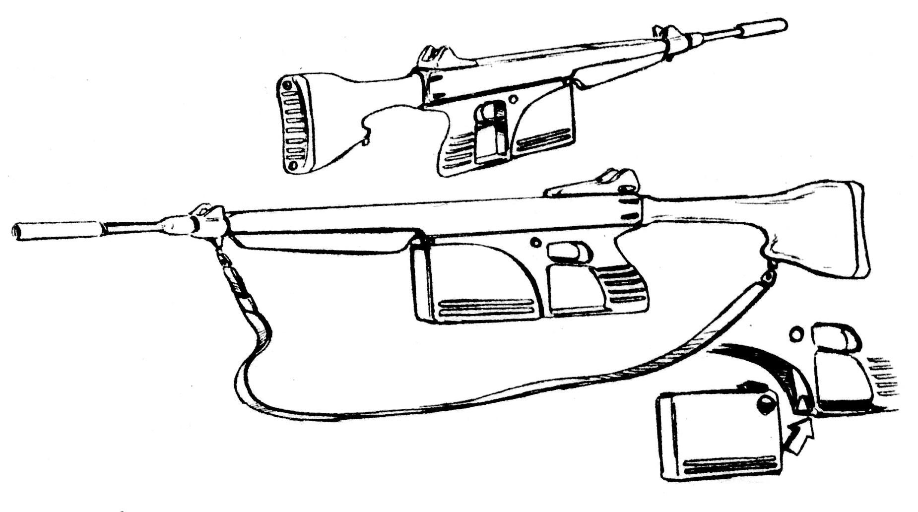 Armelite Colt Ar 21 5 56mm Assault Rifle Gallery