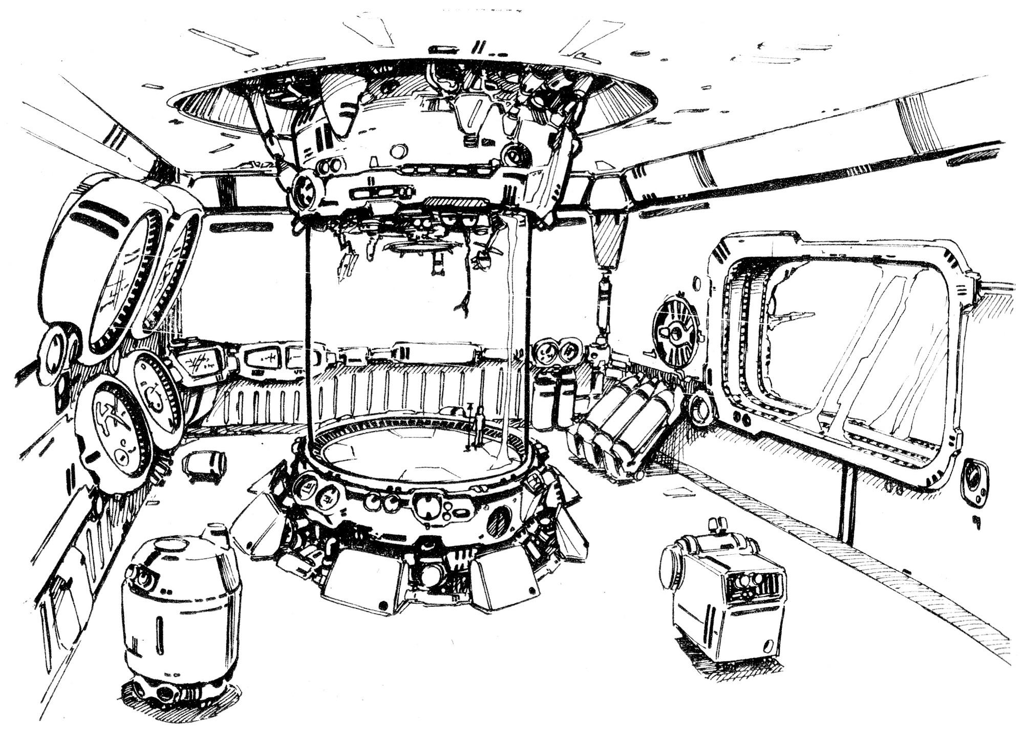 Nupetiet Vergnitzs-class Fleet Command Battleship interior