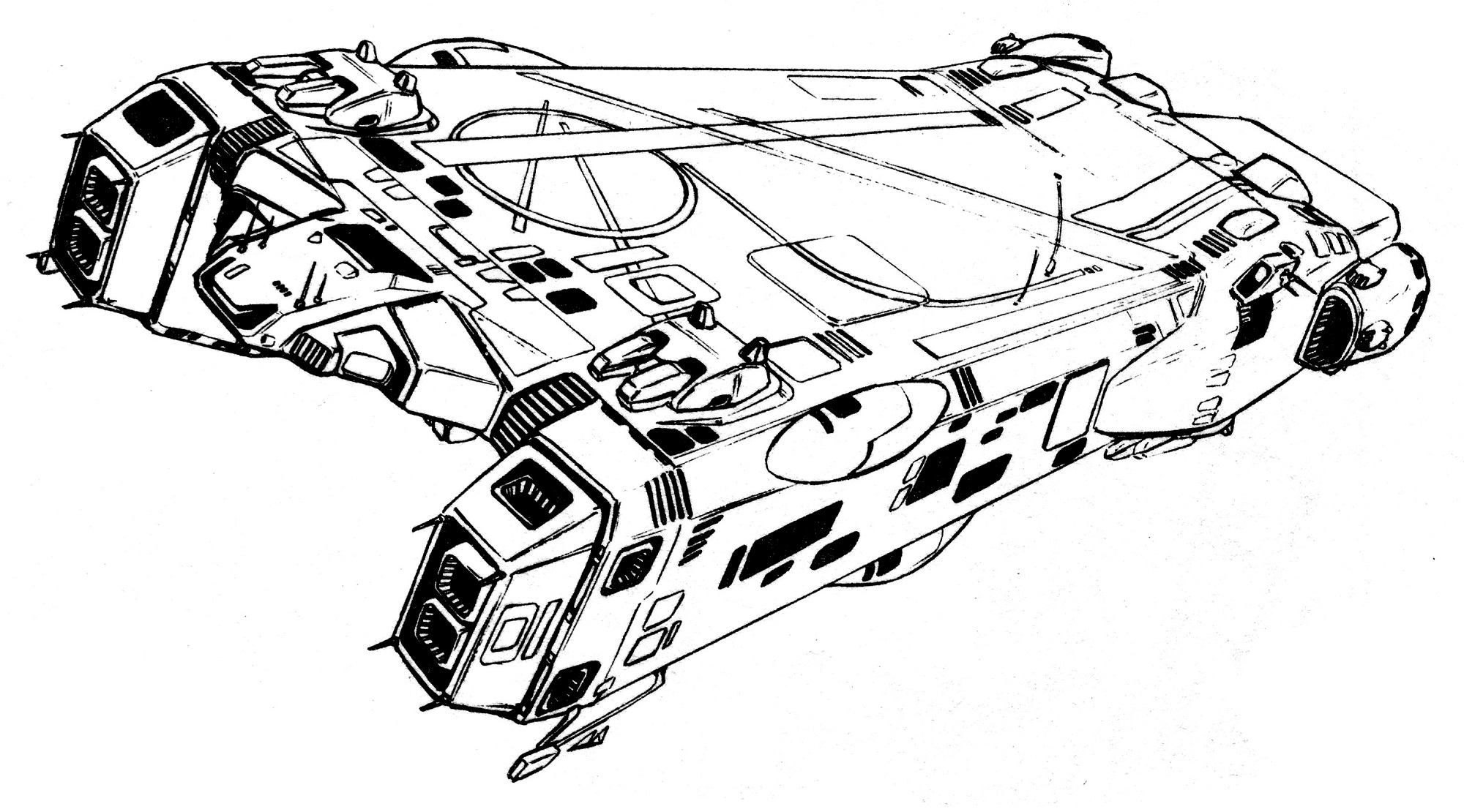 RRG Bomarck II Surface/Ship-Launched Anti-Spaceship