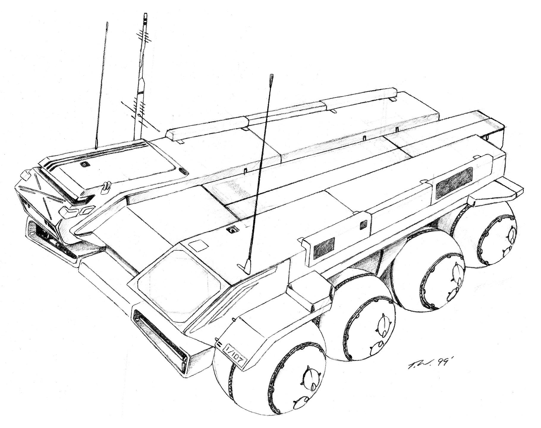 Gmcu Ground Mobile Command Unit C3i Aerospacecraft Gallery