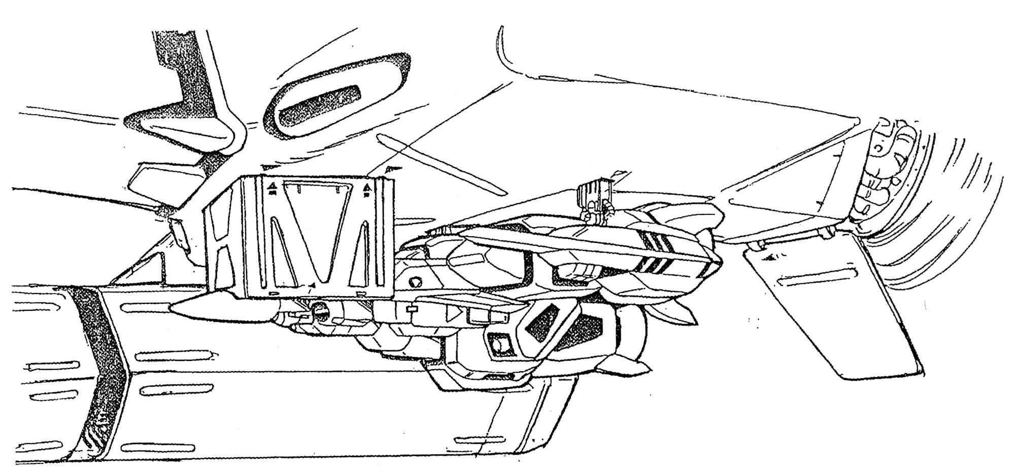 Maxwell Dynamics/ Shimada VF/A-6H Alpha Multi-role