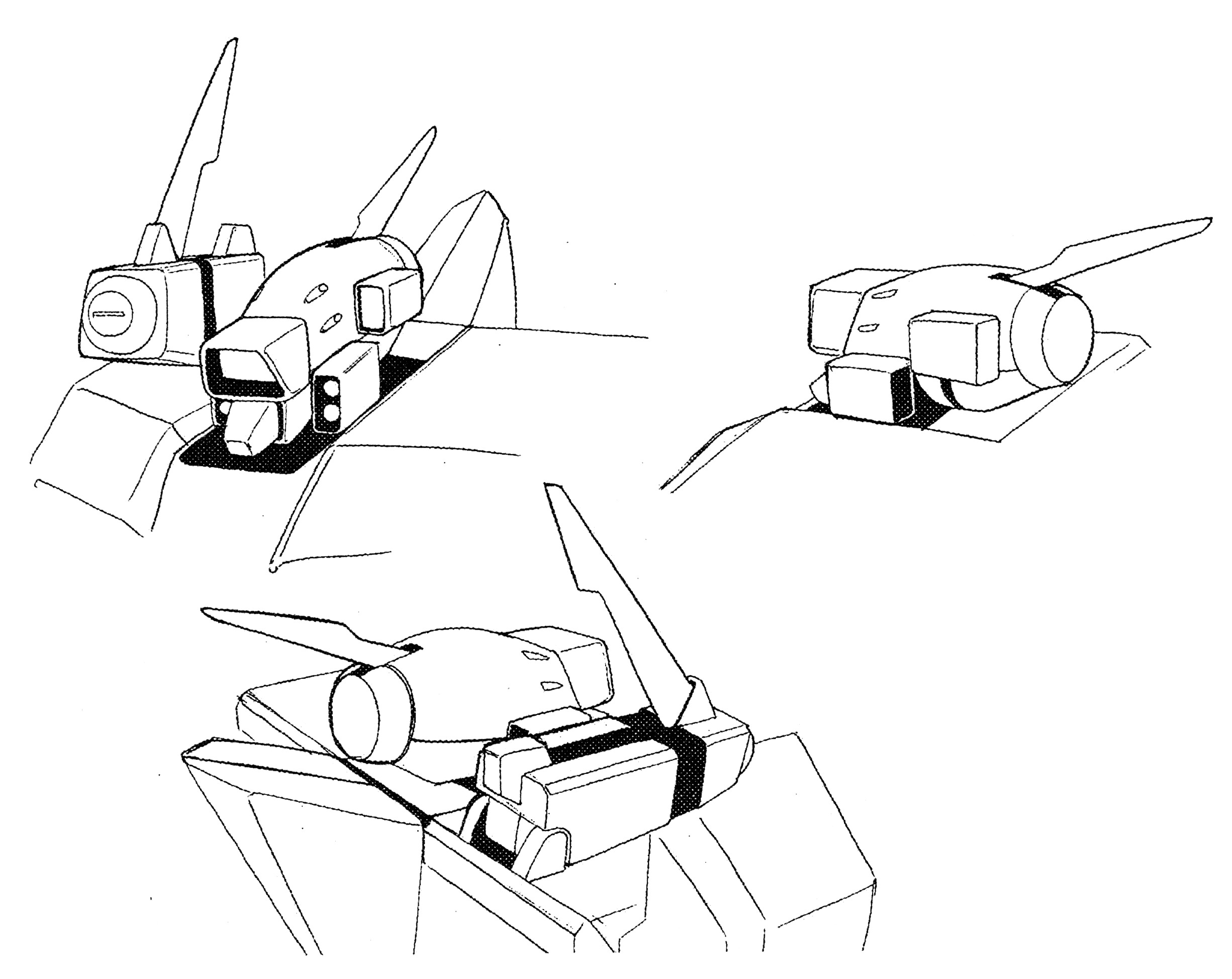 Maxwell Dynamics Vf A 6 Multi Role Veritech Fighter