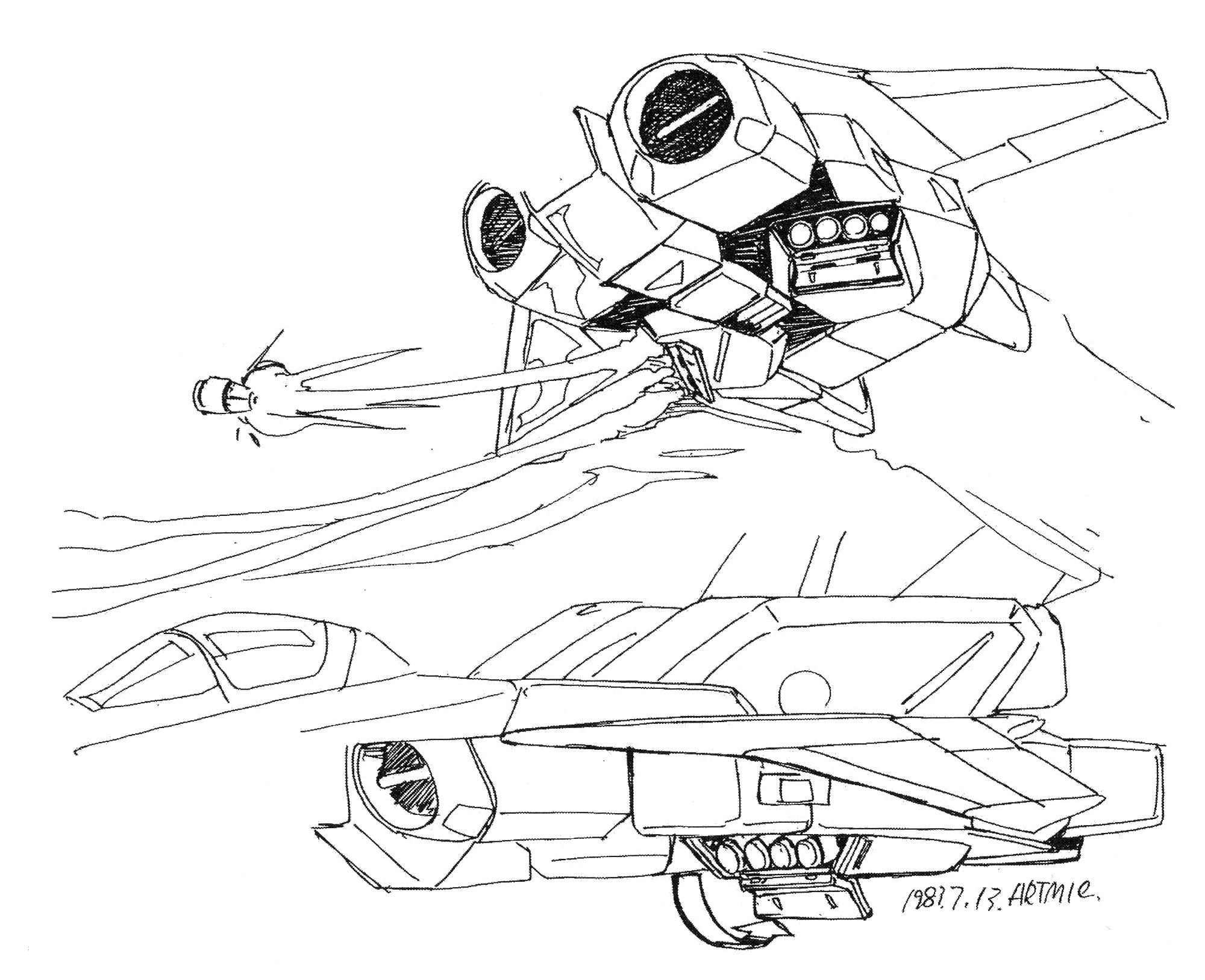 Maxwell Dynamics/ Shimada VF/A-6I Alpha Multi-role