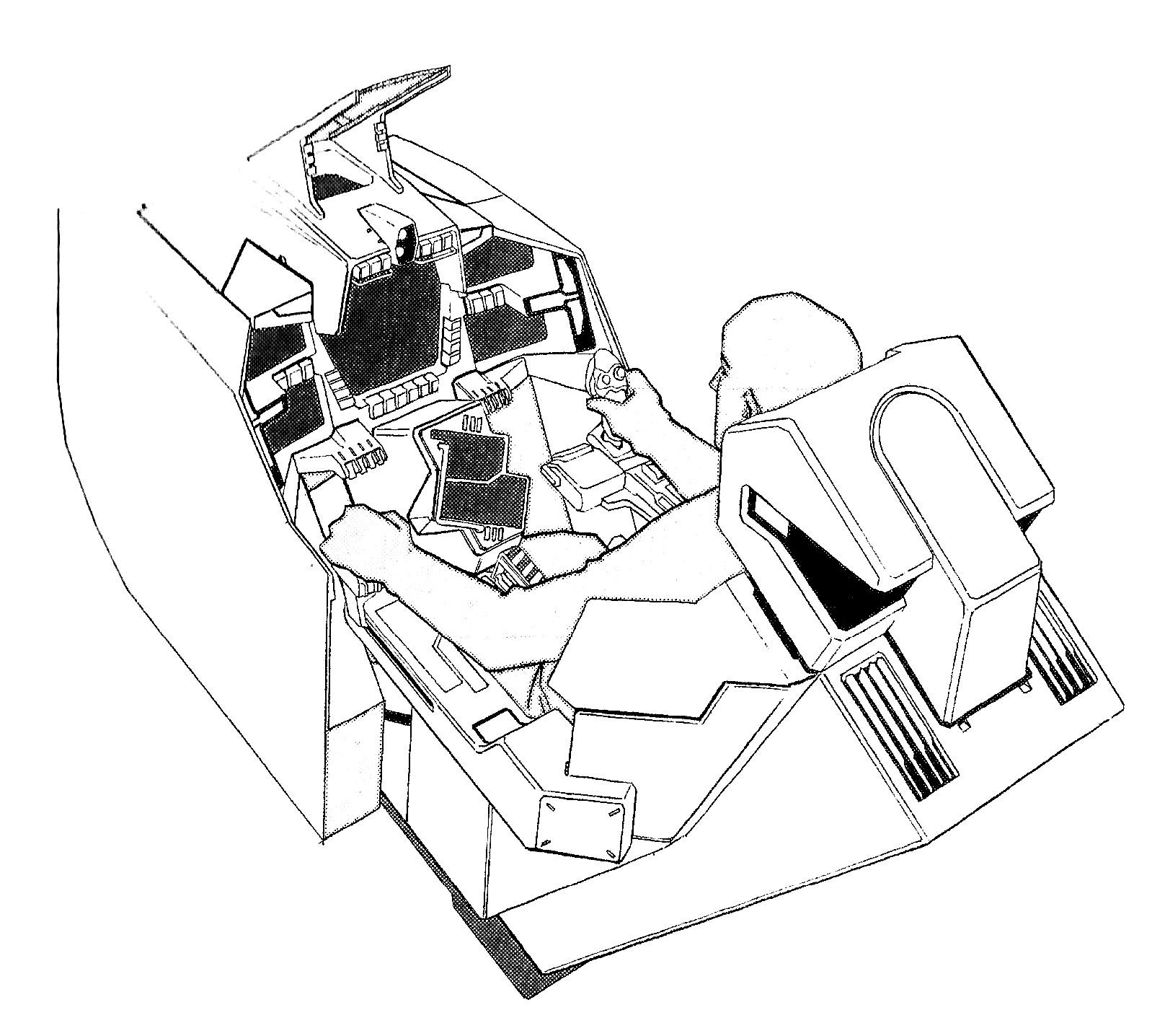 Maxwell Dynamics VF/A-6 Multi-role Veritech Fighter