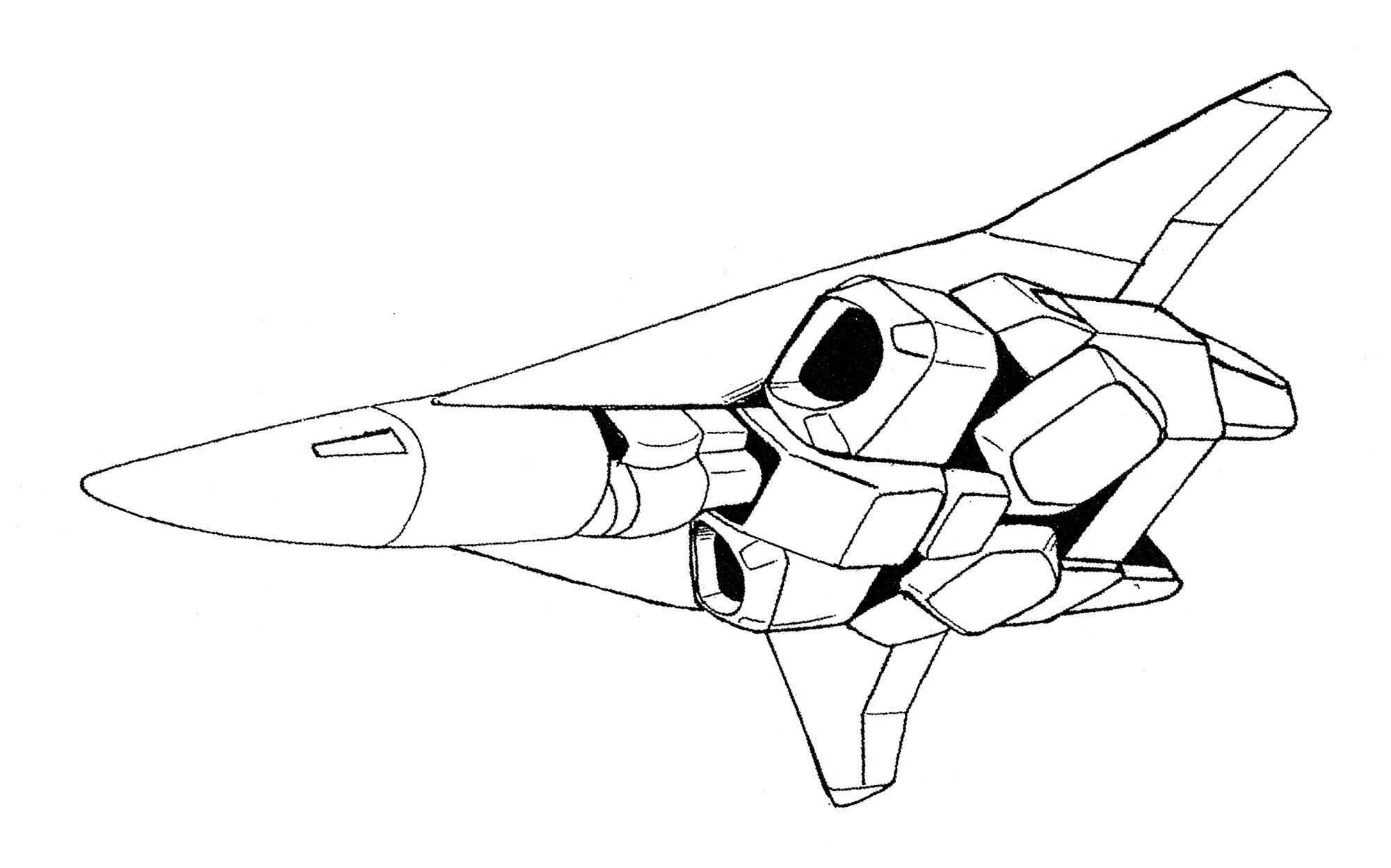 Shimada Enterprises Block 50-52 VF/A-6X Shadow Veritech