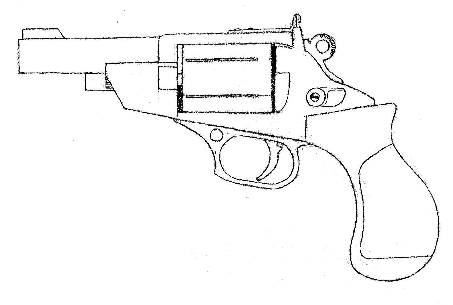 Ruger M 9mm Service Revolver