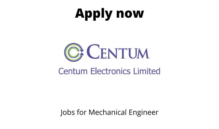 Centum-Electronics-Hiring