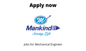 Mankind Pharma Ltd. Hiring | Technicians | 10th/ 12th/ ITI |