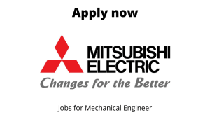 Mitsubishi Electric Automotive India Hiring | Asst. Manager – Robot Sales | BE/BTech in Mechanical/ Electronics/ Instrumentation |