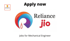 Reliance Jio Infocomm is Hiring | State Core Maintenance Engg Utilities | BE/BTech in ENTC/ Mechanical/ Electrical |