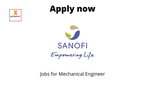 Sanofi is Hiring | Assistant Manager | Diploma/ Degree in Mechanical Engineering |