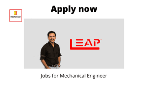 LEAP India Hiring | Project Engineer | Bachelor's degree in Mechanical or Industrial Engineering | 1 – 3 years | Pune |