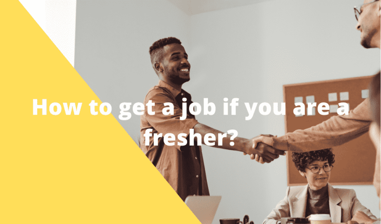 how-to-get-a-job-if-you-are-a-fresher